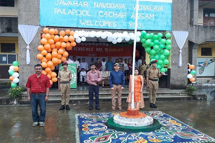 Jawahar Navodaya Vidyalaya-Independences day