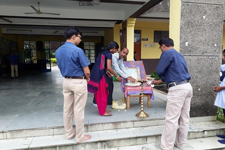 Jawahar Navodaya Vidyalaya-Lighting the lamp