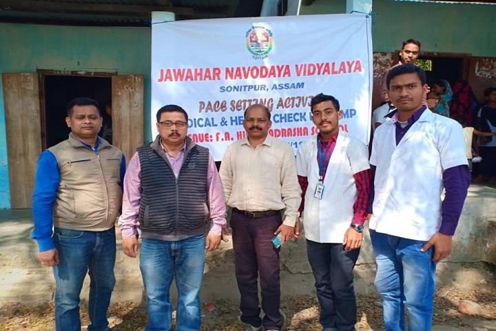 Jawahar Navodaya Vidyalaya-Health check up