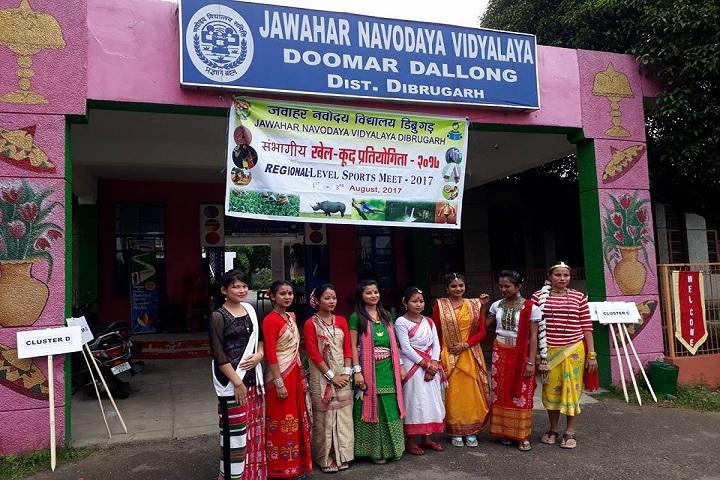 Jawahar Navodaya Vidyalaya-Fancy dress