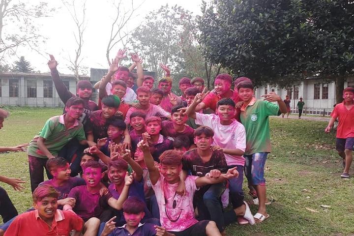 Jawahar Navodaya Vidyalaya-Holi Celebrations