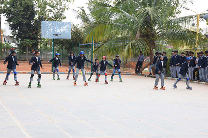 Supreme Public School-Skating