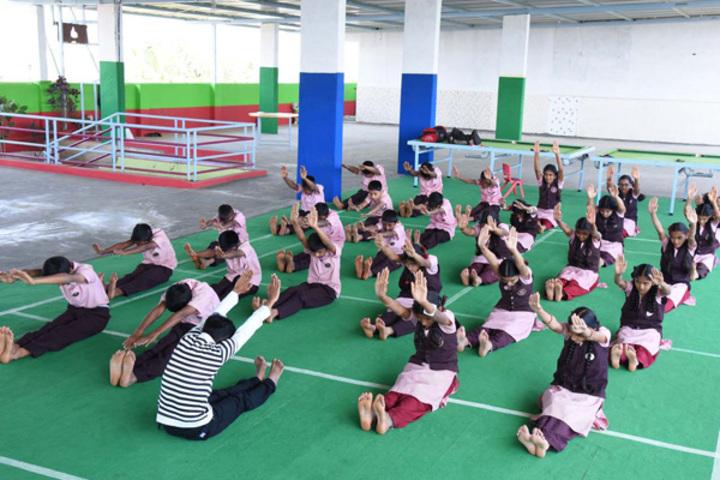 Supreme Public School-Yoga