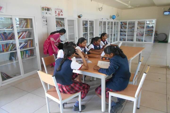 Surabhi Vidyaniketan-Library