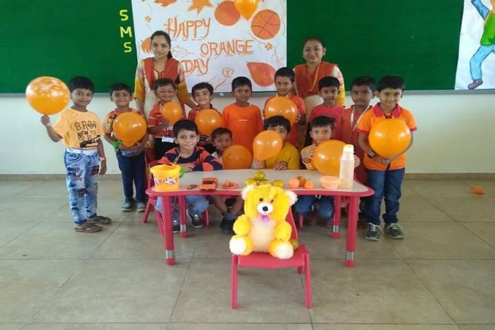 Surabhi Vidyaniketan-Orange Day celebrations