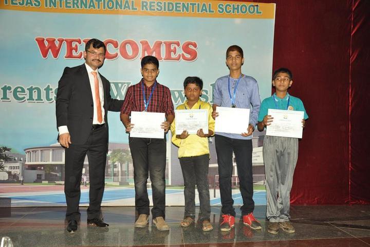 Tejas International Residential School-Achievement