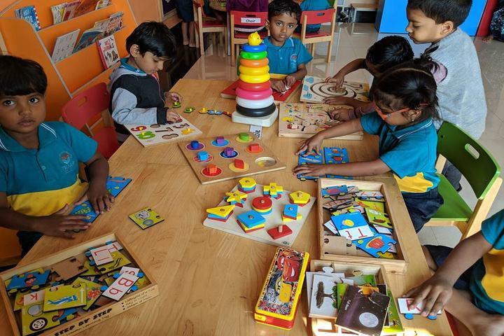 Tejas International Residential School-Activity Room