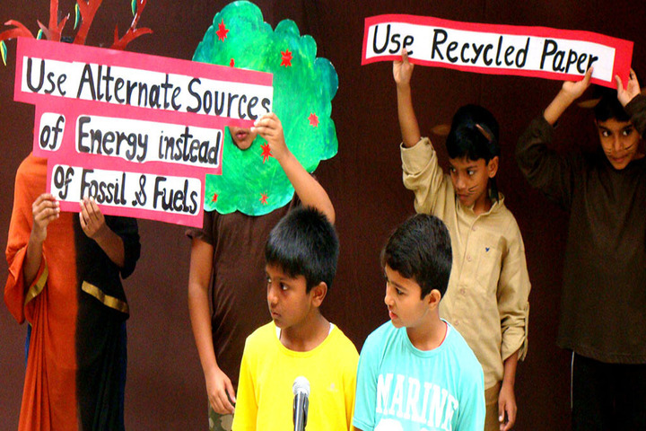 The Brigade School-Environment Day