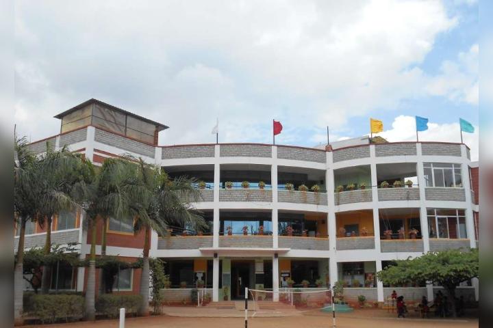 The Orchids Public School - School Building