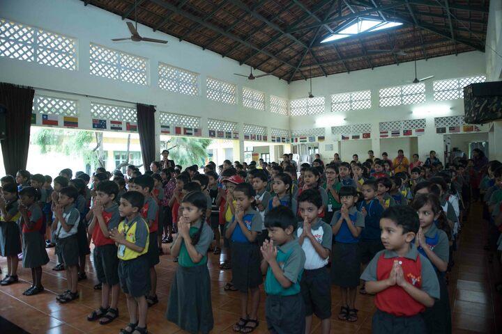 The Yenepoya School-Assembly