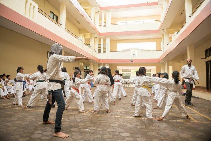 The Yenepoya School-Karate