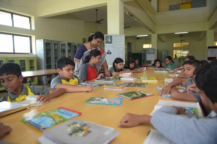 The Yenepoya School-Library