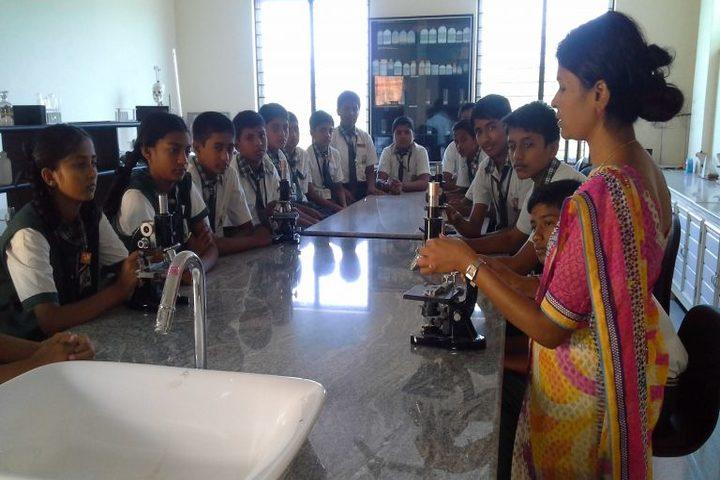 Universal Public School-Science Lab