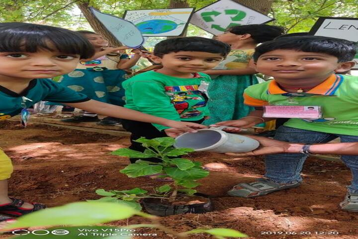 Vagdevi Vilas School-Tree Plantation
