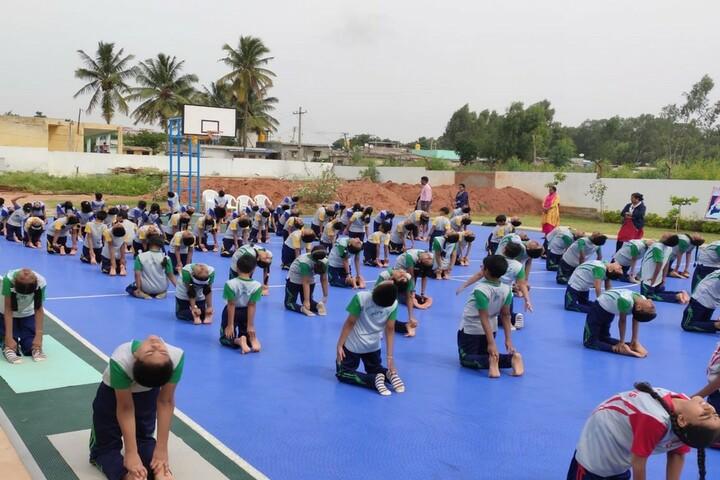 Vagdevi Vilas School-Yoga