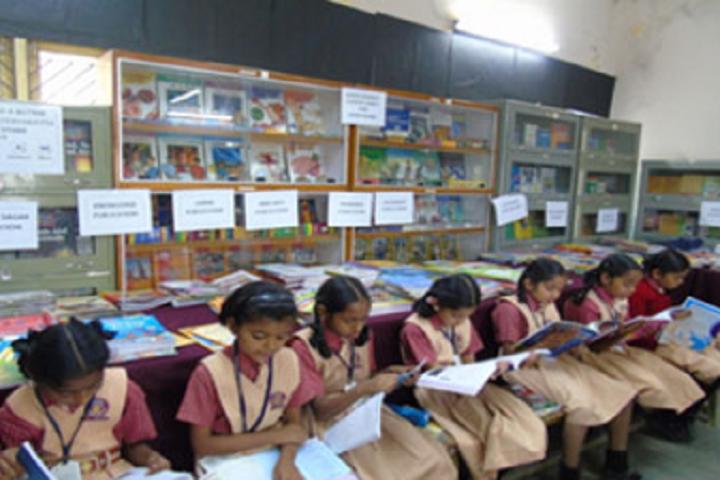 Vasavadatta Vidya Vihar-Library