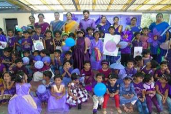 Vasavadatta Vidya Vihar-Violet Day Celebrations