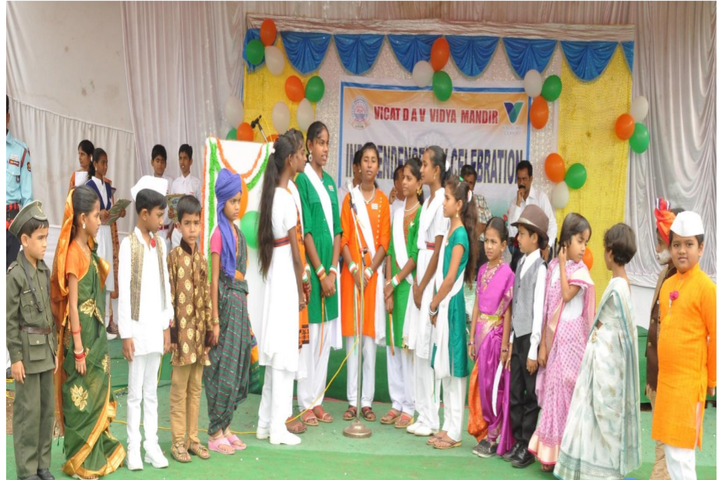 Vicat Dav Vidya Mandir-Independence Day Celebrations