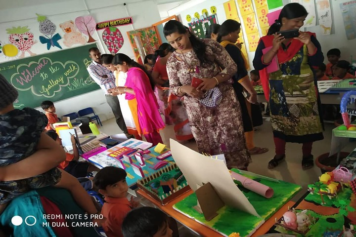 Vidya Soudha Public School-Science Exhibition