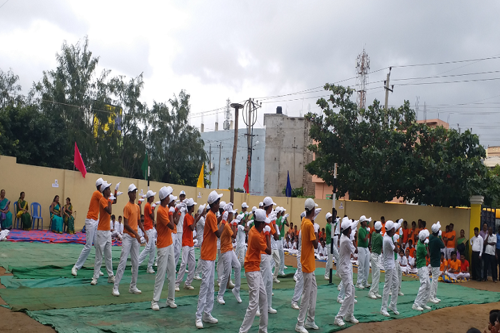 Vidyashree High School-Independence Day Celebrations