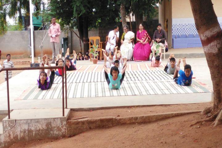 Vidyavardhaka Sangha B M Sri Educational Institutions-Yoga Day
