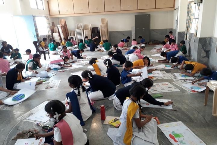 Vijaya Bharathi Vidyalaya-Drawing Activity