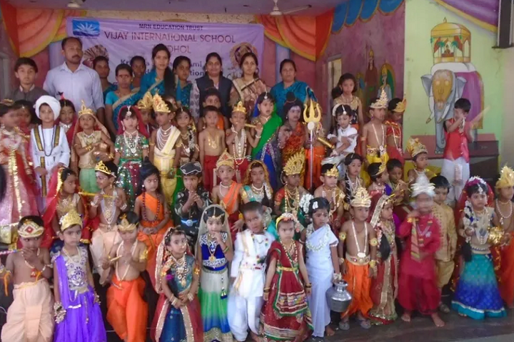 Vijay International School-Krishnastami Celebrations