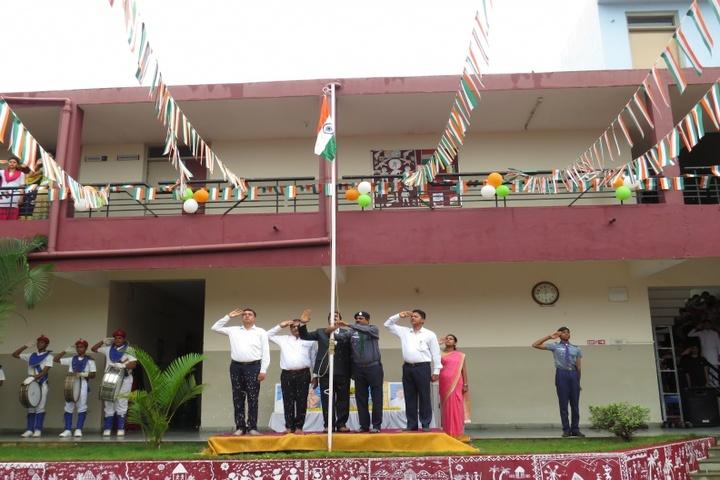 Vimal V Deshpande School Of Excellence-Flag Hosting