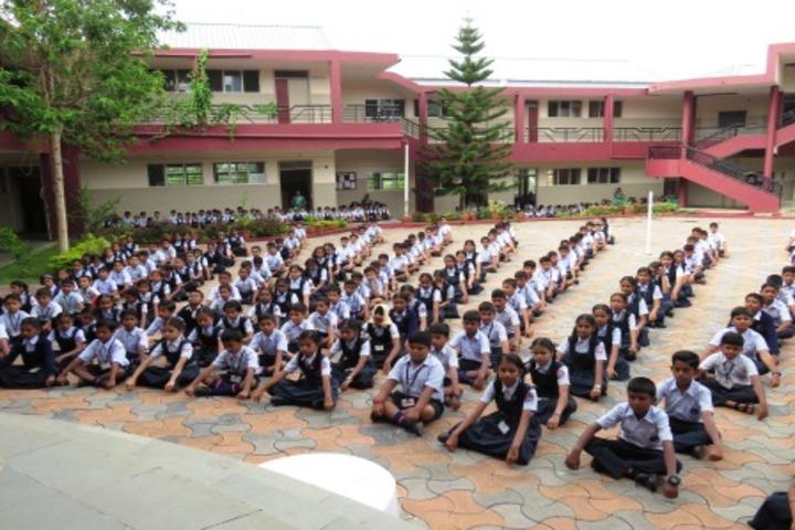 Vimal V Deshpande School Of Excellence-Yoga Day