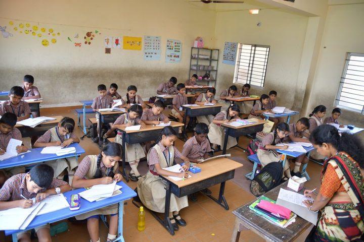 Vishwa Vinayaka National English Medium School-Classroom
