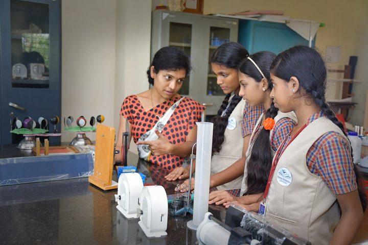 Vishwa Vinayaka National English Medium School-Physics Lab