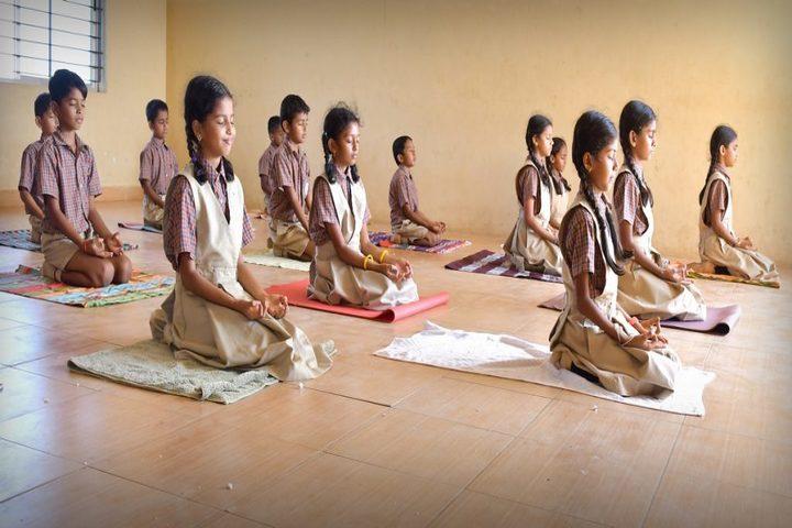 Vishwa Vinayaka National English Medium School-Yoga