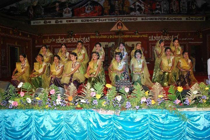 Vokkaligara Sangha School-Dancing Activity