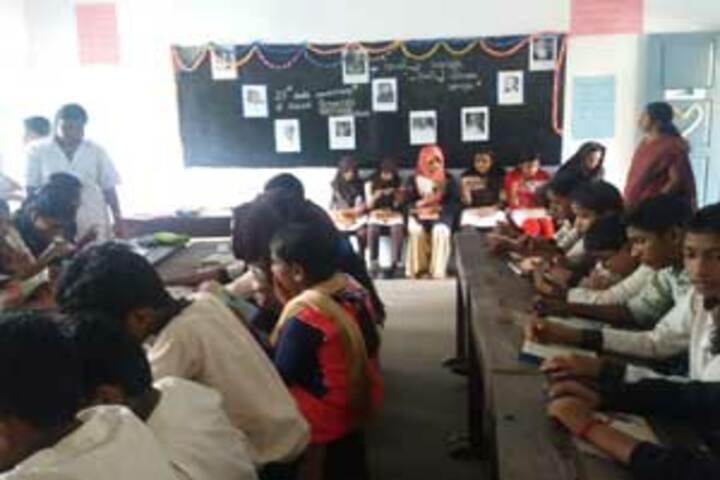 A J Central Senior Secondary School - Classroom