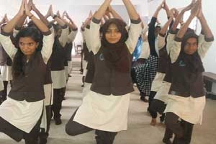 A J Central Senior Secondary School-Yoga