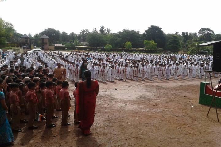 A J I Senior Secondary English School-Assembly