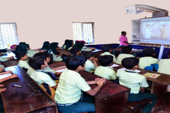 A J I Senior Secondary English School-Classroom
