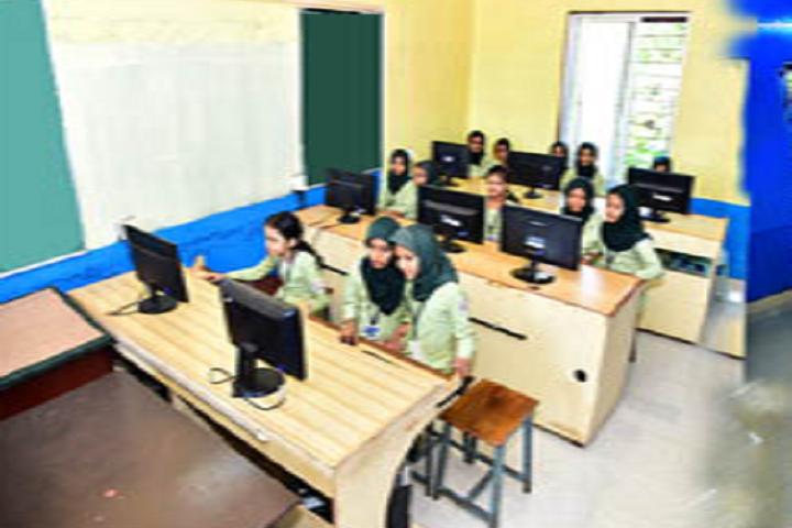 A J I Senior Secondary English School-Computer Lab