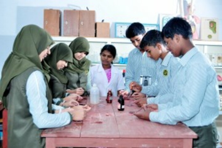 A E T English Medium School-Laboratory