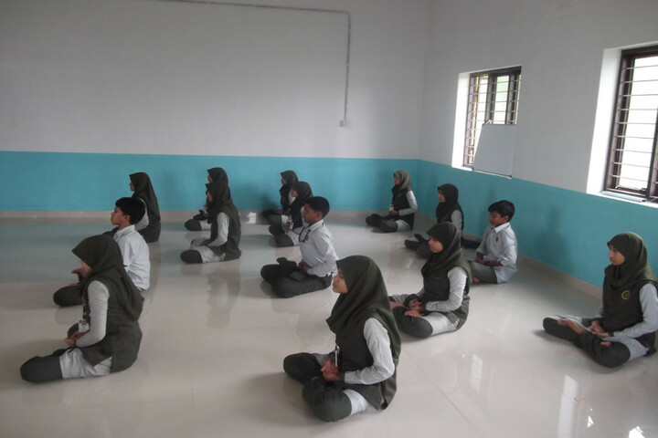 A E T English Medium School-Yoga