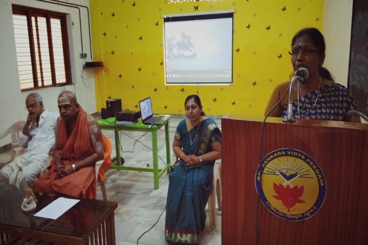 Adi Sankara Vidya Peedam-Meeting