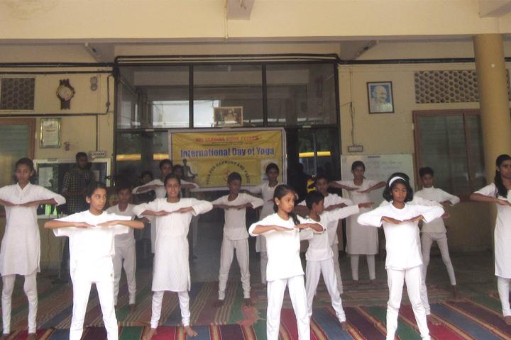 Adi Sankara Vidya Peedam-Yoga Day