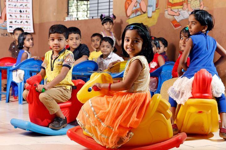 Adwaita Mission Public School-Kids Play Area