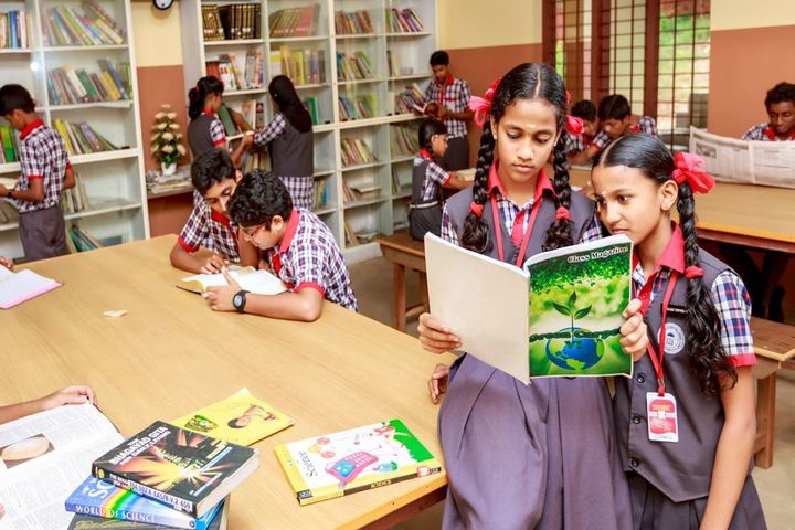 Adwaita Mission Public School-Library