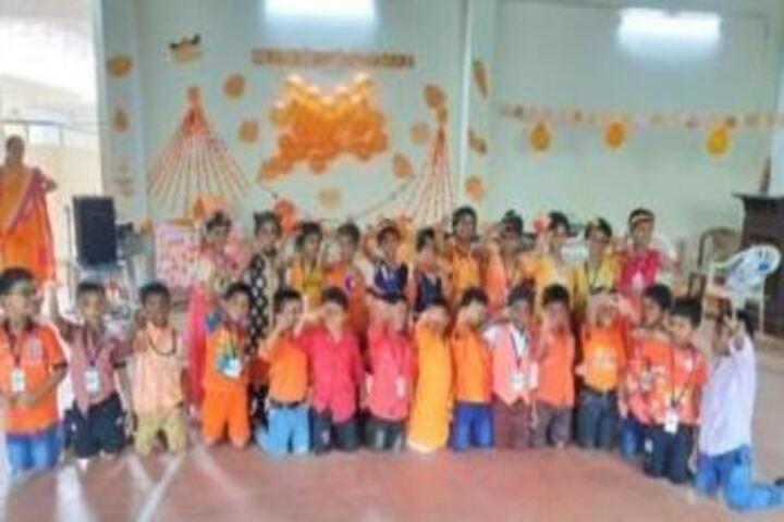 Ahalia Public School-Orange Day