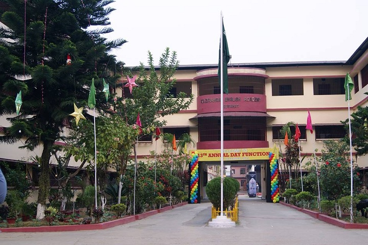 Kaziranga English Academy-School building