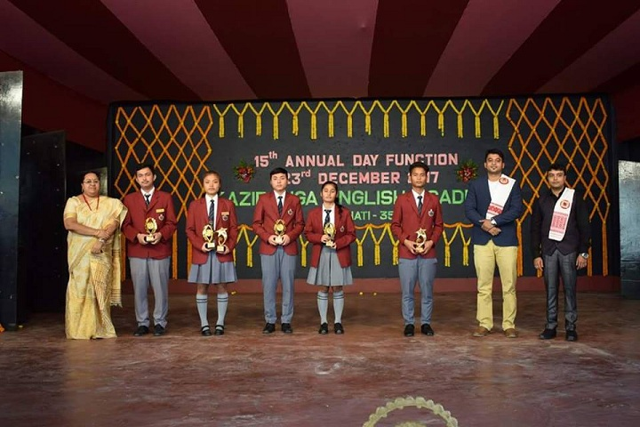 Kaziranga English Academy-Annual day
