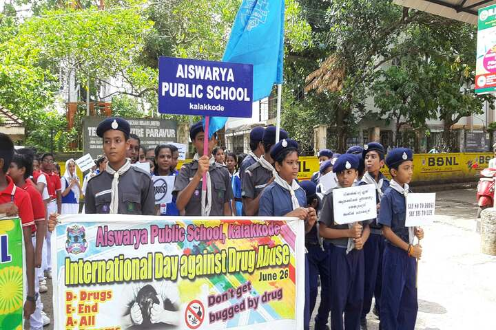 Aishwaraya Public School-Rally