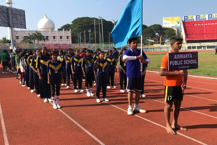 Aishwaraya Public School-Sports Day
