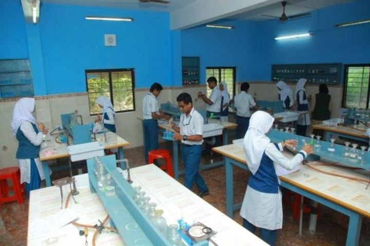 Al Ameen International Public School-Chemistry Laboratory